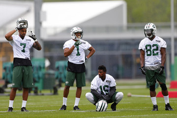 Jalen Saunders New York Jets Rookie Mini Camp