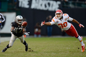 Jalil Brown Kansas City Chiefs v Oakland Raiders