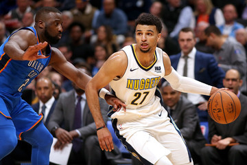 Jamal Murray Oklahoma City Thunder v Denver Nuggets