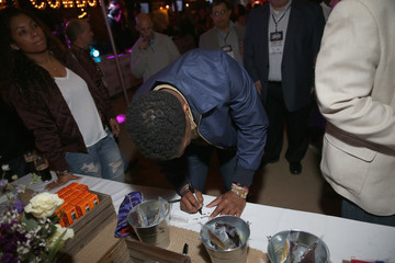 Jameis Winston Crown Royal Bag Stuffing Event at Cigars with the Stars Party