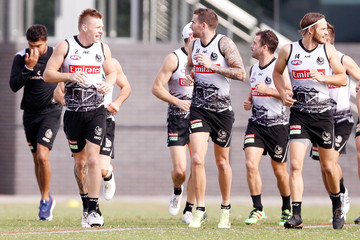 James Aish Collingwood Magpies Training Session