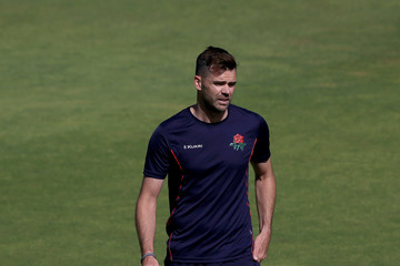 James Anderson Lancashire v Hampshire - Specsavers County Championship Division One