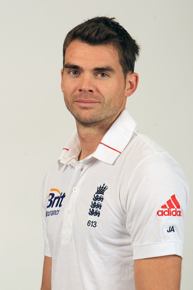 James Anderson (Cricketer) in the past