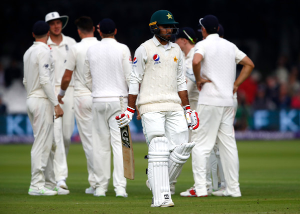 England Vs. Pakistan: NatWest 1st Test - Day Two