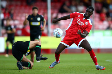 James Bailey Crawley Town v Yeovil Town - Sky Bet League Two