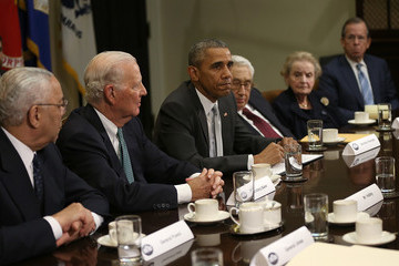 James Baker Obama and Biden Meet With National Security Leaders at White House
