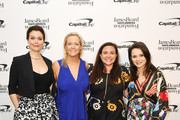 (L-R) Bellamy Young, Clare Reichenbach, Lauren Liss, and Sasha Cohen attend as The James Beard Foundation kicks off the 2019-20 Taste America,presented byofficial banking and credit card partnerCapital One,with a tasting partyinNew York Citycelebrating sustainability and inclusivity with chefsfromacross the country.
