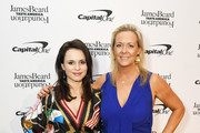 Sasha Cohen (L) and Clare Reichenbach attend as The James Beard Foundation kicks off the 2019-20 Taste America,presented byofficial banking and credit card partnerCapital One,with a tasting partyinNew York Citycelebrating sustainability and inclusivity with chefsfromacross the country.