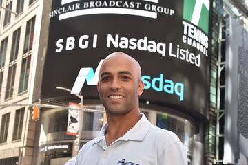 James Blake Tennis Channel Rings The Nasdaq Stock Market Opening Bell