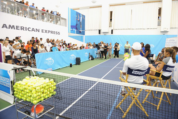 James Blake American Express and USTA US Open Fresh Courts Challenge