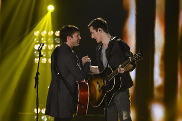 James Blunt 'The Voice of Germany' Finals in Berlin