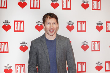 James Blunt Ein Herz Fuer Kinder Gala 2014 - Red Carpet Arrivals