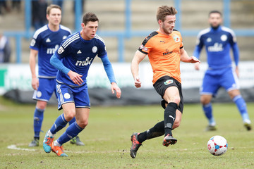 James Bolton FC Halifax Town v Nantwich Town - FA Trophy Semi Final: Second Leg