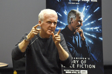 James Cameron AMC James Cameron's Story Of Science Fiction Launch - Visionaries