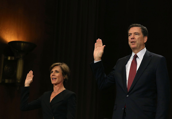 Image result for yates comey