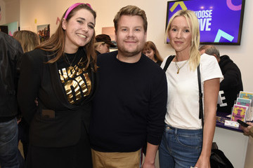 James Corden Julia Carey Choose Love Launches In Los Angeles On Giving Tuesday