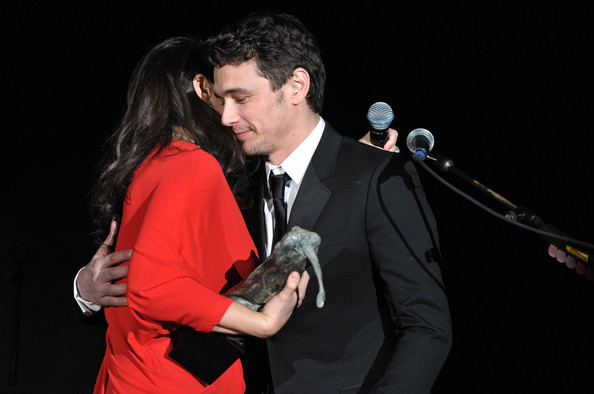 "2011 Art Of Elysium ""Heaven"" Gala - Show [art of elysium ``heaven gala - show,art,red,event,performance,microphone,singer,singing,performing arts,audio equipment,formal wear,music artist,jennifer howell,james franco,elysium,spirit of elysium,california science center,los angeles]"