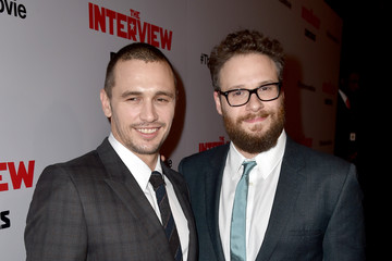 """James Franco Seth Rogen Premiere Of Columbia Pictures' """"The Interview"""" - Red Carpet"""