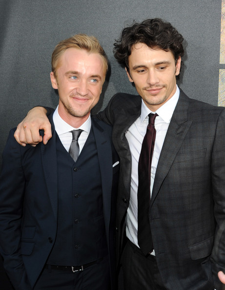 James+Franco+Tom+Felton+Premiere+20th+Ce