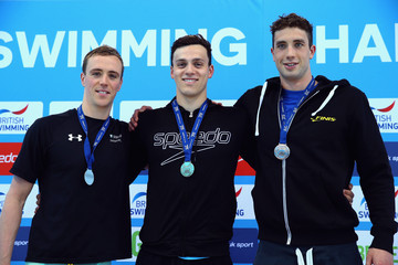 James Guy Calum Jarvis British Gas Swimming Championships 2015: Day Five