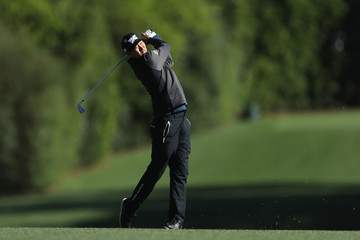 James Hahn The Masters - Round Two