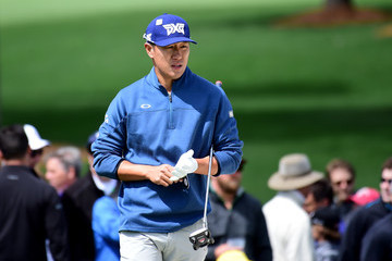 James Hahn The Masters - Round One