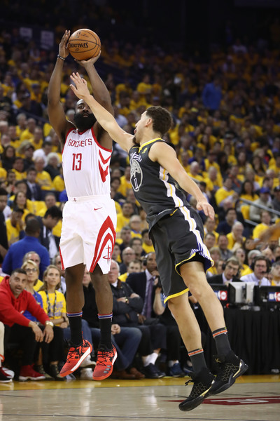 d038d1967ec9 James Harden and Klay Thompson Photos»Photostream · Pictures · Houston  Rockets vs. Golden State Warriors - Game Four