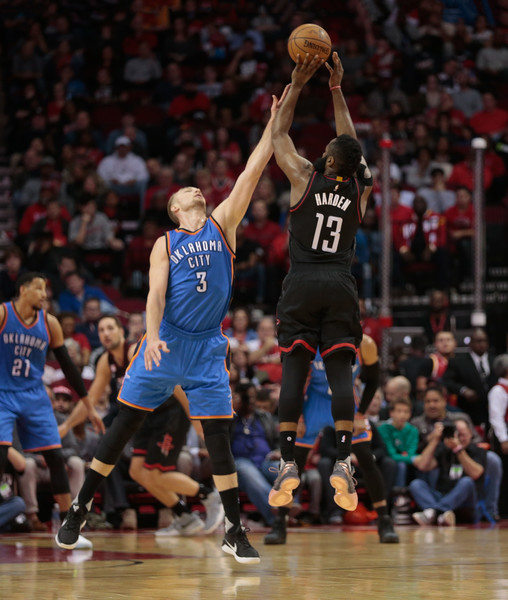 Houston Rockets Vs Okc: James Harden Photos Photos