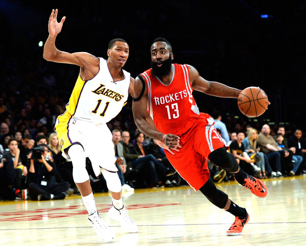 f6cf909a94bc James Harden and Wesley Johnson Photos»Photostream · Pictures · Houston  Rockets v Los Angeles Lakers