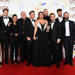 James Haskell National Television Awards 2020 - Winners Room