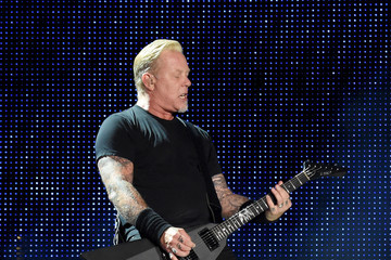James Hetfield Metallica Performs At Rose Bowl