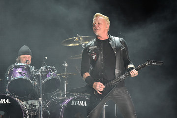 James Hetfield Metallica Performs in Concert - East Rutherford, NJ