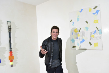 James Marsden Marine Tanguy Art at Zampolli Residence