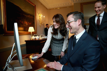 James Martin The Duchess of Cambridge Guest Edits the Huffington Post
