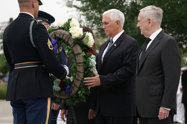 Pentagon Holds September 11th Memorial Observance Ceremony