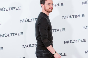 James McAvoy 'Multiple' Madrid Photocall