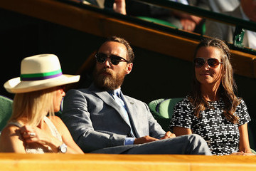 James Middleton Day Ten: The Championships - Wimbledon 2015