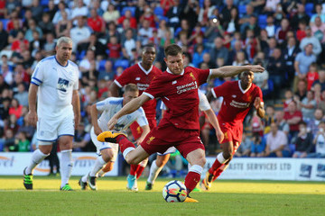 James Milner Tranmere Rovers v Liverpool - Pre Season Friendly