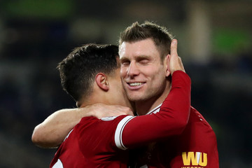 James Milner Brighton and Hove Albion v Liverpool - Premier League