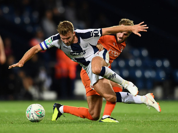 West Bromwich Albion vs. Luton Town - Carabao Cup First Round