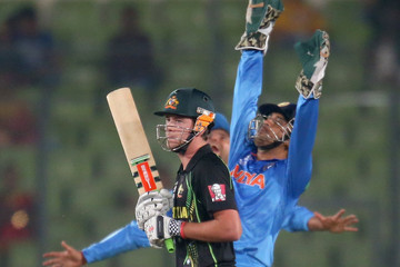 James Muirhead India v Australia - ICC World Twenty20 Bangladesh 2014