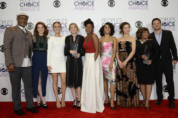 James Pickens People's Choice Awards 2016 - Press Room