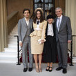 James Righton Investitures At Buckingham Palace