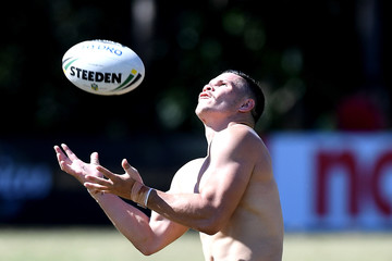 James Roberts Brisbane Broncos Training Session