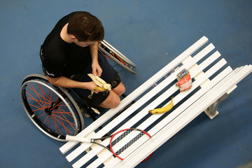 James Shaw Bath Indoors Wheelchair Tennis Tournament