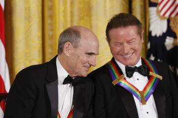 James Taylor President Barack Obama Delivers Remarks at Kennedy Center Honors Reception