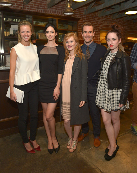 Krysten Ritter & Kimberly Van Der Beek Host Colin O'Neal Art Show At Confederacy Sponsored By OldSchoolNewRules.com