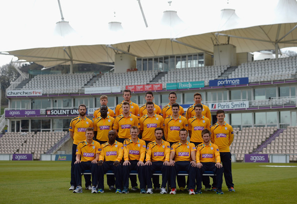 Hampshire CCC Photo Call