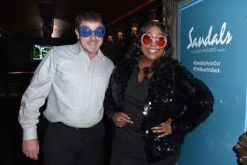 James Welsh Sandals Resorts Hosts Private Event In The Hyde Lounge inside Staples Center At The Elton John Farewell Concert