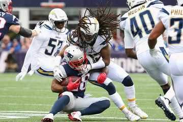 James White Los Angeles Chargers v New England Patriots